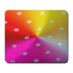 Polka Dots Pattern Colorful Colors Large Mousepads