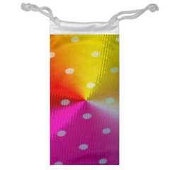 Polka Dots Pattern Colorful Colors Jewelry Bag