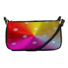 Polka Dots Pattern Colorful Colors Shoulder Clutch Bags