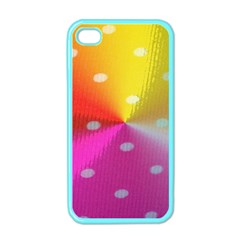 Polka Dots Pattern Colorful Colors Apple iPhone 4 Case (Color)