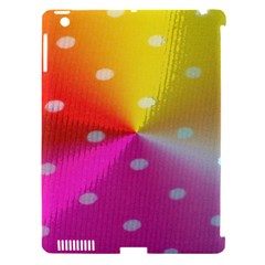 Polka Dots Pattern Colorful Colors Apple iPad 3/4 Hardshell Case (Compatible with Smart Cover)
