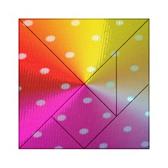 Polka Dots Pattern Colorful Colors Acrylic Tangram Puzzle (6  x 6 )
