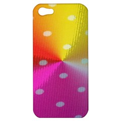 Polka Dots Pattern Colorful Colors Apple iPhone 5 Hardshell Case