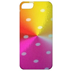 Polka Dots Pattern Colorful Colors Apple iPhone 5 Classic Hardshell Case