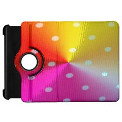 Polka Dots Pattern Colorful Colors Kindle Fire HD 7