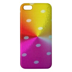 Polka Dots Pattern Colorful Colors Apple iPhone 5 Premium Hardshell Case