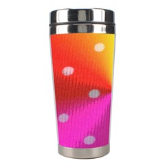 Polka Dots Pattern Colorful Colors Stainless Steel Travel Tumblers