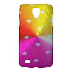 Polka Dots Pattern Colorful Colors Galaxy S4 Active
