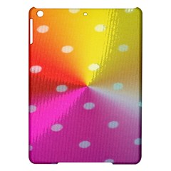 Polka Dots Pattern Colorful Colors iPad Air Hardshell Cases