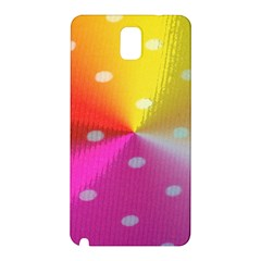 Polka Dots Pattern Colorful Colors Samsung Galaxy Note 3 N9005 Hardshell Back Case