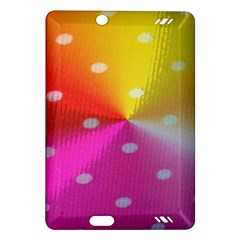 Polka Dots Pattern Colorful Colors Amazon Kindle Fire HD (2013) Hardshell Case