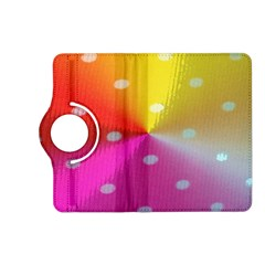 Polka Dots Pattern Colorful Colors Kindle Fire HD (2013) Flip 360 Case