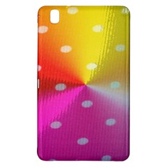 Polka Dots Pattern Colorful Colors Samsung Galaxy Tab Pro 8 4 Hardshell Case