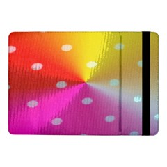 Polka Dots Pattern Colorful Colors Samsung Galaxy Tab Pro 10.1  Flip Case