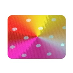 Polka Dots Pattern Colorful Colors Double Sided Flano Blanket (Mini)