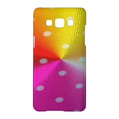 Polka Dots Pattern Colorful Colors Samsung Galaxy A5 Hardshell Case