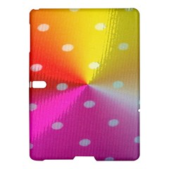 Polka Dots Pattern Colorful Colors Samsung Galaxy Tab S (10.5 ) Hardshell Case