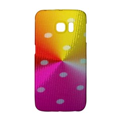 Polka Dots Pattern Colorful Colors Galaxy S6 Edge