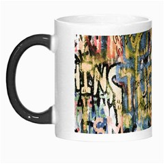 Graffiti Wall Pattern Background Morph Mugs