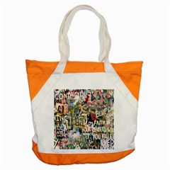 Graffiti Wall Pattern Background Accent Tote Bag