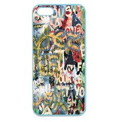 Graffiti Wall Pattern Background Apple Seamless iPhone 5 Case (Color)