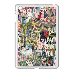Graffiti Wall Pattern Background Apple Ipad Mini Case (white)