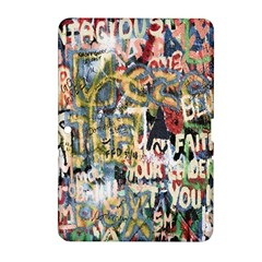 Graffiti Wall Pattern Background Samsung Galaxy Tab 2 (10.1 ) P5100 Hardshell Case