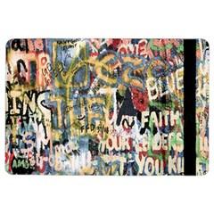 Graffiti Wall Pattern Background iPad Air 2 Flip
