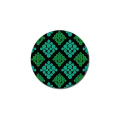 Vintage Paper Kraft Pattern Golf Ball Marker (10 pack)