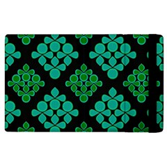 Vintage Paper Kraft Pattern Apple iPad 2 Flip Case