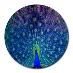 Amazing Peacock Round Mousepads