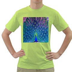 Amazing Peacock Green T-Shirt