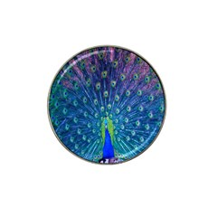 Amazing Peacock Hat Clip Ball Marker (10 Pack)