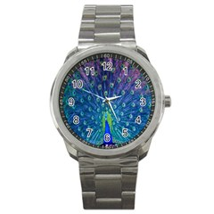 Amazing Peacock Sport Metal Watch