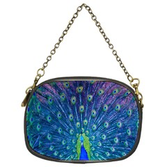 Amazing Peacock Chain Purses (two Sides)