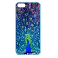Amazing Peacock Apple Seamless iPhone 5 Case (Color)