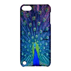 Amazing Peacock Apple Ipod Touch 5 Hardshell Case With Stand