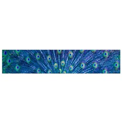 Amazing Peacock Flano Scarf (Small)