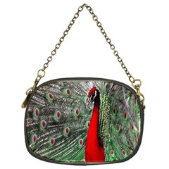 Red Peacock Chain Purses (two Sides)