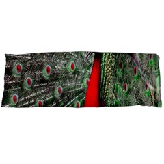 Red Peacock Body Pillow Case Dakimakura (Two Sides)