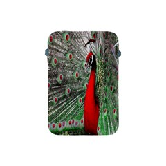 Red Peacock Apple iPad Mini Protective Soft Cases