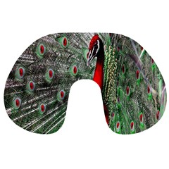 Red Peacock Travel Neck Pillows