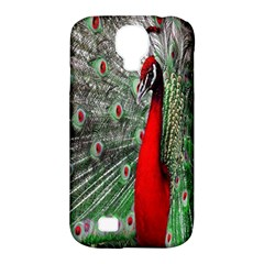Red Peacock Samsung Galaxy S4 Classic Hardshell Case (PC+Silicone)