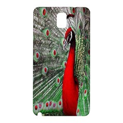 Red Peacock Samsung Galaxy Note 3 N9005 Hardshell Back Case