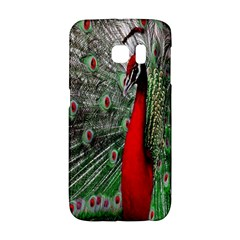 Red Peacock Galaxy S6 Edge
