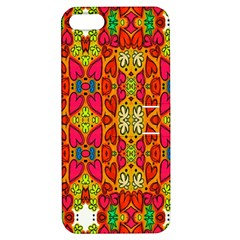 Abstract Background Design With Doodle Hearts Apple iPhone 5 Hardshell Case with Stand