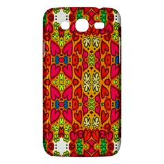Abstract Background Design With Doodle Hearts Samsung Galaxy Mega 5.8 I9152 Hardshell Case