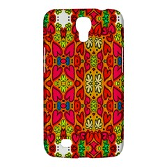 Abstract Background Design With Doodle Hearts Samsung Galaxy Mega 6.3  I9200 Hardshell Case