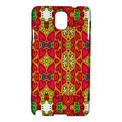 Abstract Background Design With Doodle Hearts Samsung Galaxy Note 3 N9005 Hardshell Case