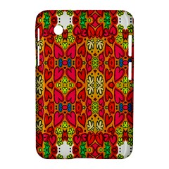 Abstract Background Design With Doodle Hearts Samsung Galaxy Tab 2 (7 ) P3100 Hardshell Case